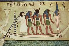 Bargeof the Sun in Tomb of Anhurkhawi