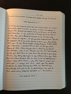 No longer lei, pero que lindo Las frases The Notebook Quotes, Journal Quotes, Journal Prompts, Journal Pages, Writing Prompts, Journals, Notebooks, Daily Journal, Bullet Journal Inspiration