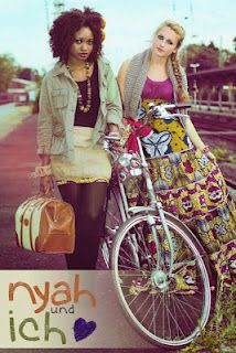 African Prints in Fashion: Inspired by a friendship: German label nyah & ich