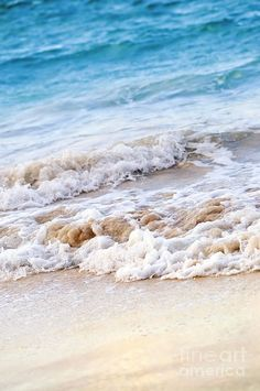 """Waves Breaking On Tropical Shore"" Ocean Photograph by Elena Elisseeva on Fine Art America"