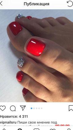 Pretty Toe Nails, Cute Toe Nails, Hot Nails, Fancy Nails, Pretty Toes, Gold Toe Nails, Purple Toe Nails, Toe Nail Color, Toe Nail Art