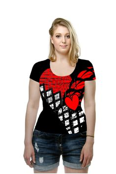 By Phyllis Braham. All Over Printed Art Fashion T-Shirt by OArtTee