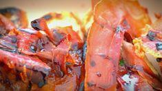 Josh & Nic's Whipped Gorgonzola & Caramelised Peach Bruschetta