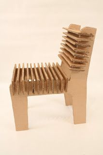 Cardboard Chair Designs Without Glue Recycled- cardboard -rocking ...