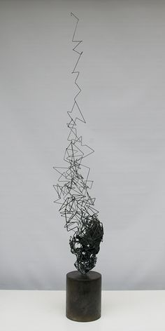 WIRE SCULPTURE (WHAT ADJECTIVE DESCRIBES THIS FORM?) Tomohiro Inaba
