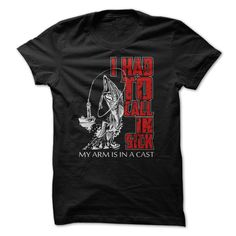 My Arm is in A Cast Fishing T-Shirts, Hoodies. GET IT ==►…