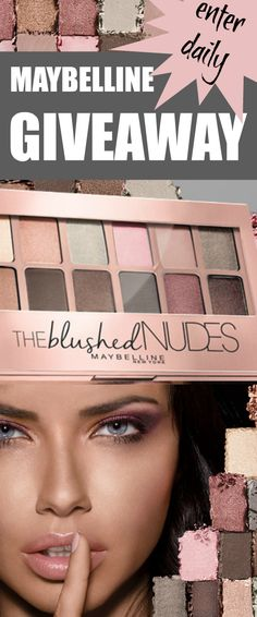 GIVEAWAY Maybelline The Blushed Nudes Palette from @beautystat http://www.beautystat.com/site/makeup/review-swatches-maybelline-color-blur-matte-pencil-blushed-nudes-palette-superstay-better-skin-foundation-concealer-corrector-eyestudio-lasting-drama-waterproof-gel-pencil-volum-expr/ (ends July 30) bstat