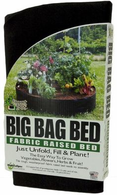 New-Smart-Pots-Big-Bag-Bed-Fabric-Raised-Bed-Garden-Flowers-Vegetables-Yard-Lawn
