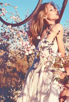 Anna Selezneva/Blumarine Spring Summer 2013