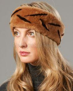 adf12e8e88fd5 Hats. Winter Hats. Ladies Shearling Sheepskin ...