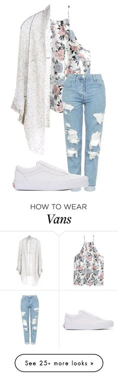 """I love you dangerously..."" by annayalee-gerber on Polyvore featuring Paychi Guh, Topshop and Vans"