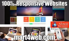 #Beautiful #themes which engage and convert #visitors into #buyers.  We have Fully #Responsive #websites which are compatible to all the #Internet #devices.  Visit: https://www.mart4web.com/templates