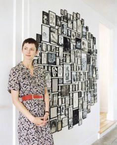 porta retratos na parede