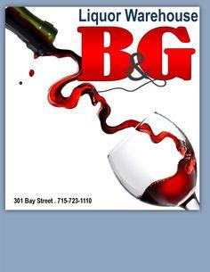 B & G Liquor Warehouse {301 Bay St., Chippewa Falls, WI}