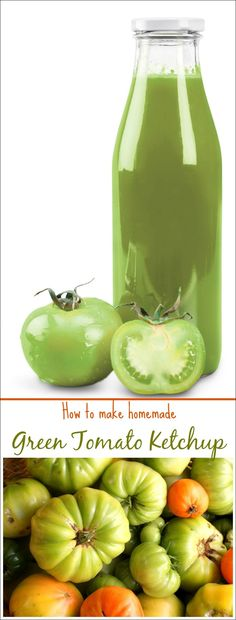 Do you have a bunch of green tomatoes left in your garden at the end of the season? Bring them in before it gets to cold and make Homemade Green Tomato Ketchup. Learn how to make homemade green tmato ketchup with this easy canning recipe at This Mama Cooks! On a Diet