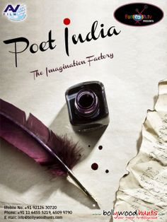 We are inviting aspiring WRITERS for TV Reality Show 'POET INDIA'. Visit:http://www.bollywoodhunts.com/Contests.aspx