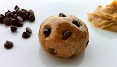 Delaine's Skinny Delights: Chocolate Chip Peanut Butter Protein Balls