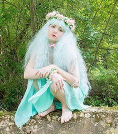 Pretty kitty @samikittydream is #PURRfectly sweet in this photo featuring our ✨GENUINE✨ #RhapsodyCollection in #Mint!  www.ROCKSTARWIGS.com . #rockstarwigs #cosplaywigs #minthair #makeupartist #makeupart #gothiclolitawigs #cosplay #cosplaywig #lolitafashion #flowercrown #elegant #kittyears #petplay #photoshoot #kawaiigirl #kawaii #enchanting #fairytale #glw #egl #gothiclolita #pastelgoth #rhapsodywig #wig #pastelhair