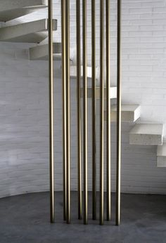 Spiral staircase by Lhoas and Lhoas Architects.