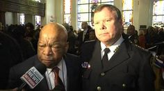Civil rights icon moved to tears by Alabama police chief's apology. Photo: Screenshot via MSNBC.com.