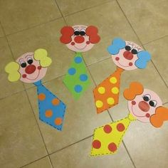 """Latest Pic mothers day Crafts for Kids Suggestions How many times what's your youngster state: """"I am bored."""" As well frequently intended for sure Clown Crafts, Circus Crafts, Carnival Crafts, Carnival Decorations, Circus Art, Circus Theme, Diy And Crafts, Crafts For Kids, Paper Crafts"""