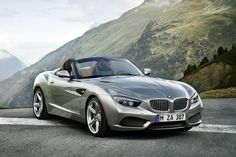 German automobile manufacturer BMW continues to prove why they are held in such high regards when it comes to luxury sports cars as they introduce the BMW Zagato Roadster. Bmw Cabrio, Bmw Z4 Roadster, M2 Bmw, Bmw Z3, Bmw Autos, Ferrari, Lamborghini, Mercedes Benz, Supercars