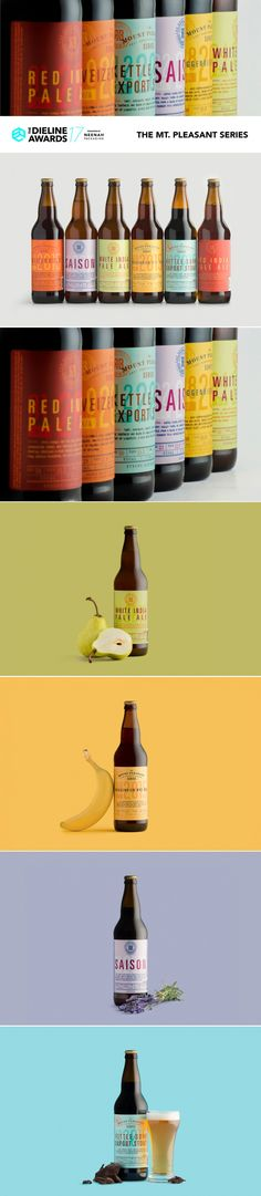 The Dieline Awards 2017 Outstanding Achievements: The Mt. Pleasant Series — The Dieline | Packaging & Branding Design & Innovation News