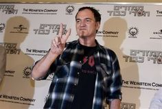 Quentin Tarantino came to Israel to promote his movie Inglourious Bastards.