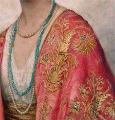 La straordinaria resa dei dettagli in un dipinto di William Clarke Wontner (1857–1930).