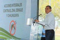 Instruye Gabino Cué a la Secretaría de Salud intensificar acciones preventivas para combatir Zika, Dengue y Chikungunya