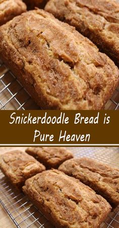 Brunch Recipes, Sweet Recipes, Breakfast Recipes, Dessert Recipes, Snickerdoodle Bread, Delicious Desserts, Yummy Food, Tasty, Biscuit Bread