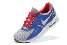Wmns Nike Air Max Zero 2016 Gs Wolf Grey Hyper Cobalt Bright Crimson TopDeals