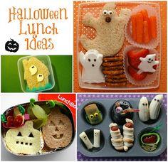 Fun Kid Halloween Lunch Ideas Round Up