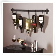 Southern Enterprises Gina Wall Mount Wine Rack
