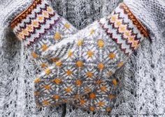 VK is the largest European social network with more than 100 million active users. Fingerless Mittens, Knit Mittens, Knitted Gloves, Knitting Socks, Hand Knitting, Knitting Charts, Knitting Patterns, Norwegian Knitting, Mittens Pattern