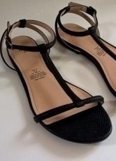Kup mój przedmiot na #vintedpl http://www.vinted.pl/damskie-obuwie/sandaly/14033412-czarne-sandalki-hm