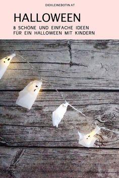 8 schaurig-schöne Ideen für ein Halloweenfest mit der Familie  Girlande, Einladungskarte, Deko, Torte, Kostüm und viele weitere Ideen