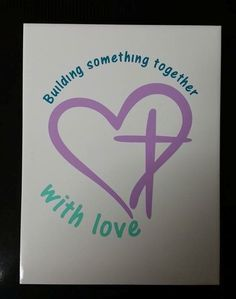 """""""Building something together with love"""" for Little Hocking Church of God tile art"""