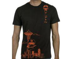 Men's Seattle ninja T shirts by namu on Etsy, $28.00