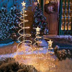 spiral christmas tree 3 piece set at big lots - Big Lots Christmas Trees