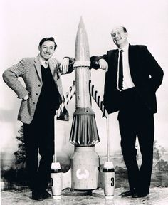 .Doug Luke with Gerry Anderson. Doug Luke is the photographer for all the Supermarionation images in TV21 comic, and stills photographer for Thunderbirds - possibly taken by Sylvia?