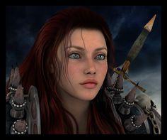 Rowan Theirin - Dragon Age - The Stolen Throne - Lohgains love and Maric's queen