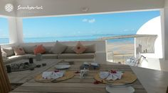 How about some breakfast in the Sala at Villa Santorini? A great way to start the morning before all the beach activities start. Enjoy Chef George's great meals, from the morning to the night, where you will surely be spoilt for choice when deciding what to taste.