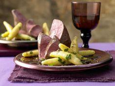 Rehrücken mit Chili-Schoko-Sauce und Petersilien-Schupfnudeln: Schlechte Laune? Dann probieren Sie dieses Gourmetrezept!