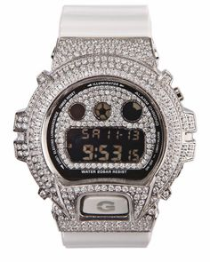 Mens G-Shock by Casio Fully Loaded Stainless Steel Watch (Limited Edition)