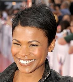 Nia Long Pixie - Short Hairstyles Lookbook - StyleBistro