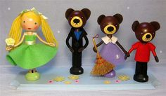 Goldilocks and the Three Bears (sold) | Flickr - Photo Sharing!