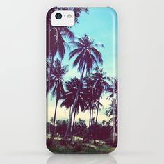 Road of palm trees iPhone  iPod Case