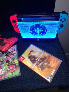 Nintendo Switch and Accessories on Mercari Super Nintendo, Nintendo 3ds, Nintendo Consoles, Nintendo Decor, Control Nintendo, Nintendo Tattoo, Nintendo Switch Animal Crossing, 150 Pokemon, Playstation