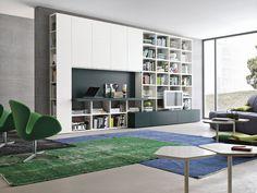Parete attrezzata per #soggiorno moderno Atlante C310   gruppotomasella.it